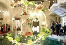 Intimate Wedding - Morocco House Jakarta by Ivoire Cake Design