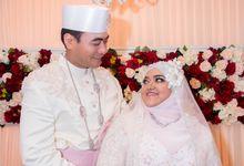 Wan Anuar and  Zulaiha Wedding by FZ Photography