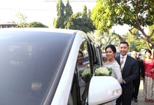 Mr Teto and Mrs Prilly Wedding by Priority Rent car