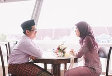 The engagement ceremony of Fauzana & Haqqa by Hanif Fazalul Photography & Cinematography