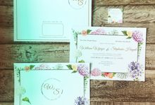 William & Stephanie Wedding Invitation by Paperstory