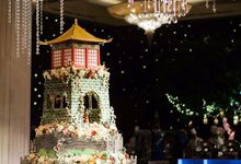 The Great Wall of China theme - Ritz Carlton Pacific Place by Ivoire Cake Design