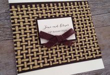 Hinterland Collection by White Cherry Invitations