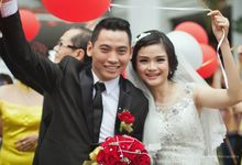 The Unforgettable -  Andress & Dolly Wedding Day Shot by Bellme Photography