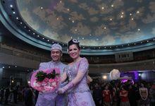 Wedding Carol & Kris by SMESCO Convention Hall