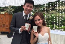 Wedding Lunch of Food Blogger Maureen Ou & Chuan Kai by Kafve Coffee