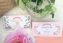 New Design on March by Ribbonade.envelope