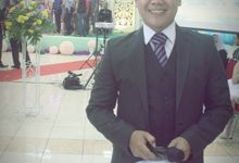 the wedding of yafet & puput by Yosua MC