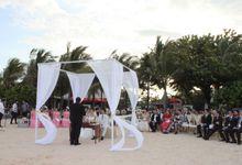 Beach Wedding Stefan & Kartika by The Royal Santrian Luxury Beach Villa
