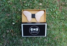Wooden Bowties by BOWSHA