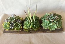 Centerpieces by Reclaim It