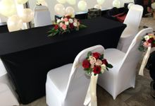 Solemnization Tables by Royal Blooms