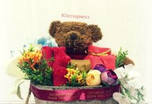 Flower gift and box by Love Flower