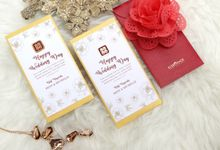 Golden Envelope by Ribbonade.envelope