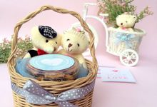 COOKIES + LIL TED + RATTAN by Syuio Happy Cookies