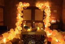 ROMANTIC SURPRISE FOR MISS ANGEL by MAE DECORATION