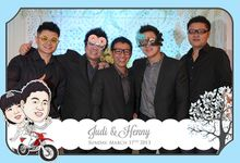 The Wedding of Judy & Henny by After 5 Photobooth
