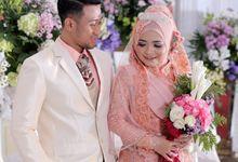 Akad Nikah & Resepsi Annisa & Aldi by LAKSMI  0817 0370 7670 by LAKSMI - Kebaya Muslimah & Islamic Bride