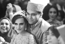 Saffana & Harish Wedding Reception by JAYSU Weddings by Jacky Suharto