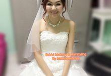 Bride Joyce & Hubby by Makeupwifstyle
