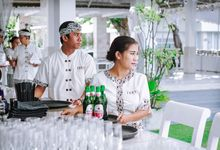 Behind The Scene by DIJON BALI CATERING