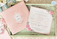 INVITATION - GARDEN ROSES by The Bride and Butter
