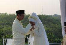 WEEDING AJENG DAN ADE 30 MEI 2015 - BUKIT GOLF RIVERSIDE CIBUBUR by Kencana Mas Wedding & Event Organizer