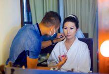 Zheng and Wei Xiao wedding by tomodachiphoto