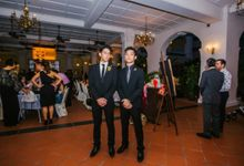 Wedding of Ian & Kelly @ Halia at Raffles Hotel by The Halia