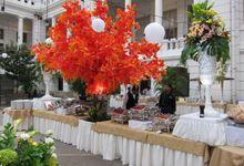 Wedding of Ayu & Ferdy by PUSPA CATERING