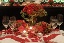 Table Decoration by Les Fleur Flower Design
