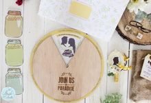 INVITATION - wheel of love by The Bride and Butter