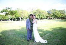 Lynn wedding gown by Miyuki Liem Bridals