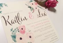 Watercolour Flowers by Little Paper Lane