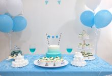 Little Blue Party by Only Kai