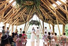 greenery wedding by Sweetbella Florist & Decoration