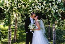 Ceremony and Reception by Affair with George  Florals & Event Styling