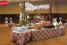 WEDDING OF SARAH & ALDI by Sonokembang Catering
