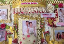 WEDDING SCRAPFRAME 30X60CM by DFLcraft
