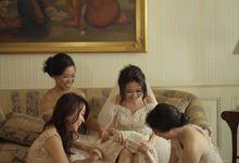 Yohan & Melinda - Dancing in the Moonlight Rustic Wedding by Bluebelle Invitations