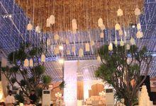 Wedding Dinner Felisa & Louis by The Royal Santrian Luxury Beach Villa