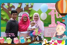 Kiya 1st Bday party by Woodenbox Photocorner
