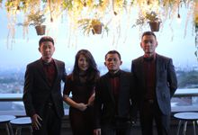Akbar&Stephanie Wedding by Aimer Music Entertainment