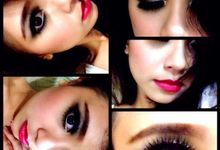 close up and before after by Clarisca Makeup Creative