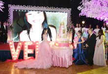 Veren Sweet 17th Birthday Party by Stellar Lightworks