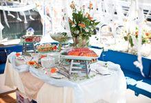 Yacht Wedding by OC Weddings