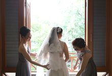 our lovely bridesmaid by Artinie