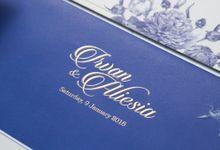 Irvan and Aliesia Wedding Invitation by INK Design & Printing