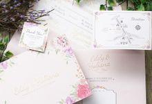 Eddy and Yuliana Wedding Invitation by INK Design & Printing