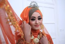 photoshoot for our portfolio by yuli rias pengantin